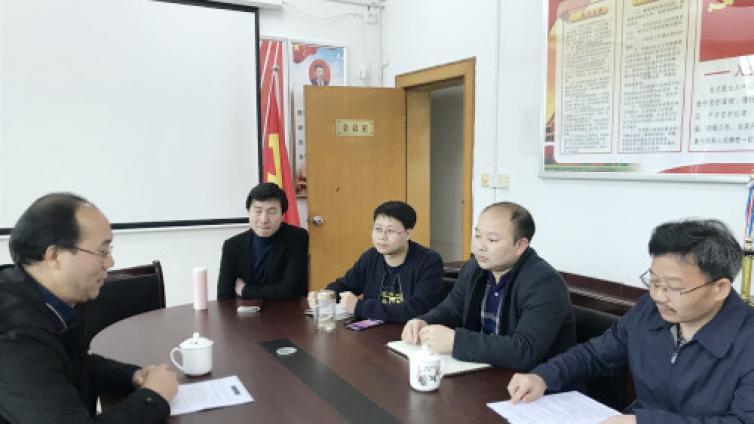 刘梅开副院长一行赴湘南高教集团洽谈专业技术人员继续教育合作项目